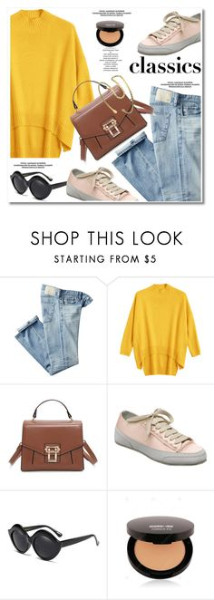 """Tried and True: Wardrobe Staples"" by paculi ❤ liked on Polyvore featuring AG Adriano Goldschmied and WardrobeStaples"