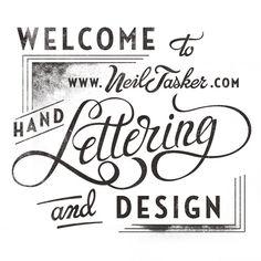 Lettering | Neil Tasker
