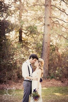 Woodsy romance   Sacramento Weddings   Donna Beck Photography