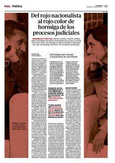 Newspagedesign Design by Julio Bolaños and Ricardo Cervera  La República newspaper, Perú.