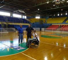 Dilka, Hector and Marcus in San Juan, Puerto Rico. Organizing the 2012 America's/Caribbean Wheelchair Basketball Championships