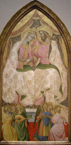 Agnolo Gaddi - Coronation of the Virgin,c. 1370