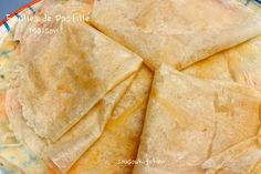 Homemade Fillo Dough/Feuilles de Pastille Maison-Ramadan Spécial-Sousoukitchen http://youtu.be/1GwIKCIcFIE
