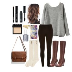 Lyrical Chairs Tag by travelerofthenight on Polyvore featuring polyvore fashion style River Island Full Tilt Frye Bling Jewelry Zara FACE Stockholm NARS Cosmetics Essie clothing