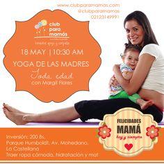 Yoga de las madres 18MAY Parque Humboldt, La Castellana