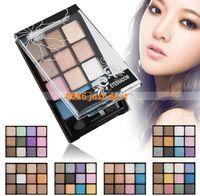 3pcs / lot 2014 nuevo de 12 colores de maquillaje paleta brillante Mate Naked Paleta Sombra de Ojos Sombra de ojos del envío Set Shimmer gratuito
