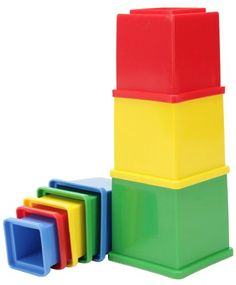 Funskool Stacking Cubes - Multicolor.