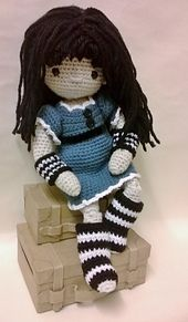 Ravelry: My Little Crochet Doll - Gorjuss pattern by Betty Virago