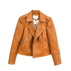 Fauxgerty vegan leather jacket MUSTARD. I know I said no jackets, but would make an exception for this one!