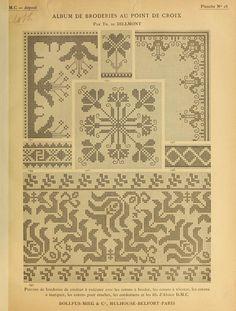 Album with cross-stitch embroidery Cross Stitch Love, Cross Stitch Borders, Cross Stitch Designs, Cross Stitching, Cross Stitch Patterns, Folk Embroidery, Cross Stitch Embroidery, Embroidery Patterns, Filet Crochet