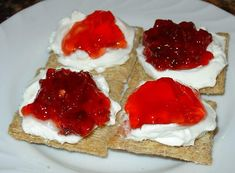 The jalapeno pepper jelly is fantastic with cream cheese and crackers. It looks so pretty in red and green for Christmas presents in pretty jelly jars.