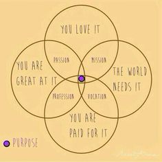 How to find your sense of purpose Mission Passion Vocation Profession - focus and simplify