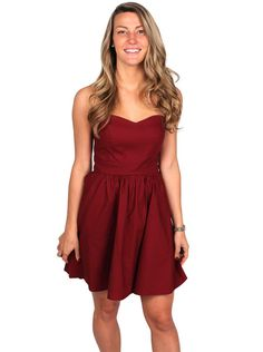 The Savannah Dress in Crimson by Lauren James