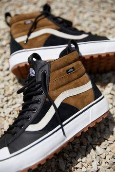 Sneakers – High Fashion For Men Vans Sneakers, Vans Boots, High Top Sneakers, Mens Vans Shoes, Casual Sneakers, Shoe Boots, Vans Men, Vans Sk8 Hi Outfit, Vans Hi Sk8