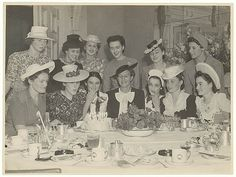 Birthday party c. 1930s / Sam Hood by State Library of New South Wales collection, via Flickr