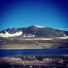 "@fotosia's photo: ""#snøhetta #sky #montain #norway #hjerkin #æøå #wild #rock"""