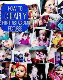 Glitter and Gloss: How to print Instagram pictures on the CHEAP!