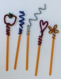 Make your own #DIY pencil toppers and keep the busy work exciting.