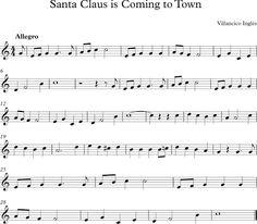 Santa Claus is Coming to Town. Villancico de Estados Unidos.