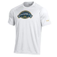 Notre Dame Fighting Irish Under Armour Shamrock Series Logo Tech Performance T-Shirt - White - $14.99