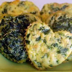 Spinach Quiche Bites, Perfect finger food for kids and grown ups! ;)