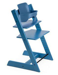 Tripp Trapp in blue, for Caleb :)