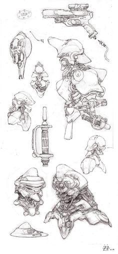 X Sketch, Tianhua Xu on ArtStation at http://www.artstation.com/artwork/x-sketch