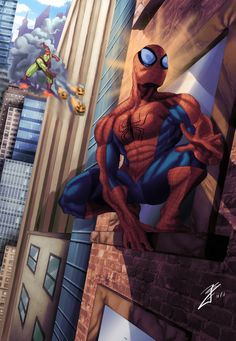 The Amazing Spiderman by ~joingaramo17 on deviantART