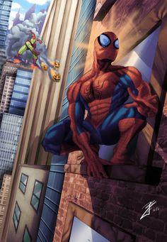 Spidey-sense tingling / The Amazing Spiderman by ~joingaramo17 on deviantART