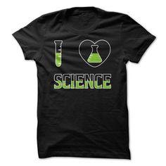 I Love Science T Shirt #Tshirt #T-Shirts