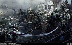 Polish Hussars vs The Swiss.