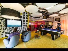 Nowe, niesamowite biuro Google w Dublinie - Pomieszczenie integracyjne na poziomie Have Fun, fot. P. Wurmli