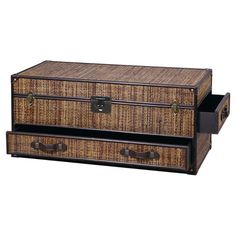 Found It At Wayfair   Viceroy Motion Trunk Coffee Table *Material: Split  Rattan,