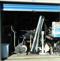 10x10. Gas Grill, Furniture, workout equipment, boxes & Bags. #StorageAuction in New Castle (176). Lien Sale.
