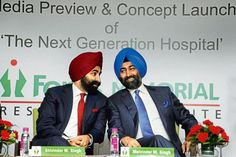 Former promoters of Ranbaxy Shivinder Singh (left) and Malvinder Singh. Photo: Hindustan Times