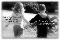 Lily Furneaux and Dominick Calhoun - Two little angels that got some JUSTICE today 2-27-12. (Separate cases)