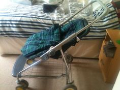 OLD STYLE METAL PRAM/PUSHCHAIR WITH RAINCOVERS,SUN CANOPY |                                                                                                                                                                                 More