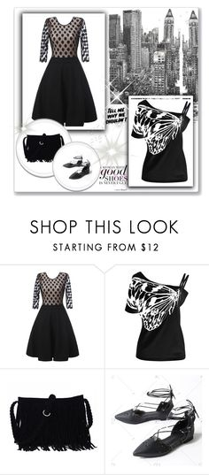 """Rosegal"" by malasirena989 ❤ liked on Polyvore featuring Savant, Baron Von Fancy, Summer, dress, promotion and rosegal"