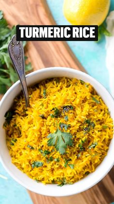 Bulgur Recipes, Turmeric Recipes, Risotto Recipes, Side Dish Recipes, Healthy Dinner Recipes, Indian Food Recipes, Vegetarian Recipes, Clean Recipes, Cooking Recipes