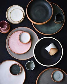 Thea ceramics - contemporary design for everyday use. All items are handthrown on a potters wheel and hand finished in bespoke glazes on Waiheke Is.