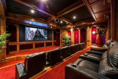 Audio rooms basements Spectacular home theater setup ideas - Basement Furniture Design - Home Theater Basement, At Home Movie Theater, Best Home Theater, Home Theater Setup, Home Theater Speakers, Home Theater Rooms, Home Theater Seating, Home Theater Design, Home Theater Projectors