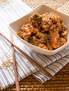 Honig-Sesam-Hühnchen aus dem Knusperstübchen // danielas foodblog