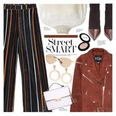 """New Year's Resolutions: Street Smart"" by chocolate-addicted-angel ❤ liked on Polyvore featuring Veda, Balmain, Stila and Vogue"