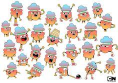 The Amazing World of Gumball Cartoon Network - Virginie Kypriotis - Character design, freelance designer