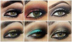 maquillage sophistiqué yeux verts
