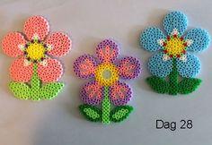 Spring flowers hama beads by Sylvana