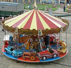 """500px / Photo """"Merry-go-round in the Piece Hall, Halifax"""" by Tim Green"""