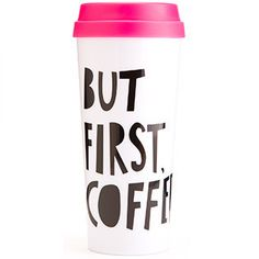"""Ban.do """"But First Coffee"""" Thermal Mug #gift-25-under #gift-for-her #home-decor-kitchen-tabletop"""