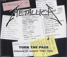 """For Sale - Metallica Turn The Page Germany  CD single (CD5 / 5"""") - See this and 250,000 other rare & vintage vinyl records, singles, LPs & CDs at http://991.com"""
