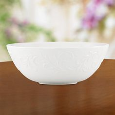 1 - Opal Innocence Carved Serving Bowl by Lenox